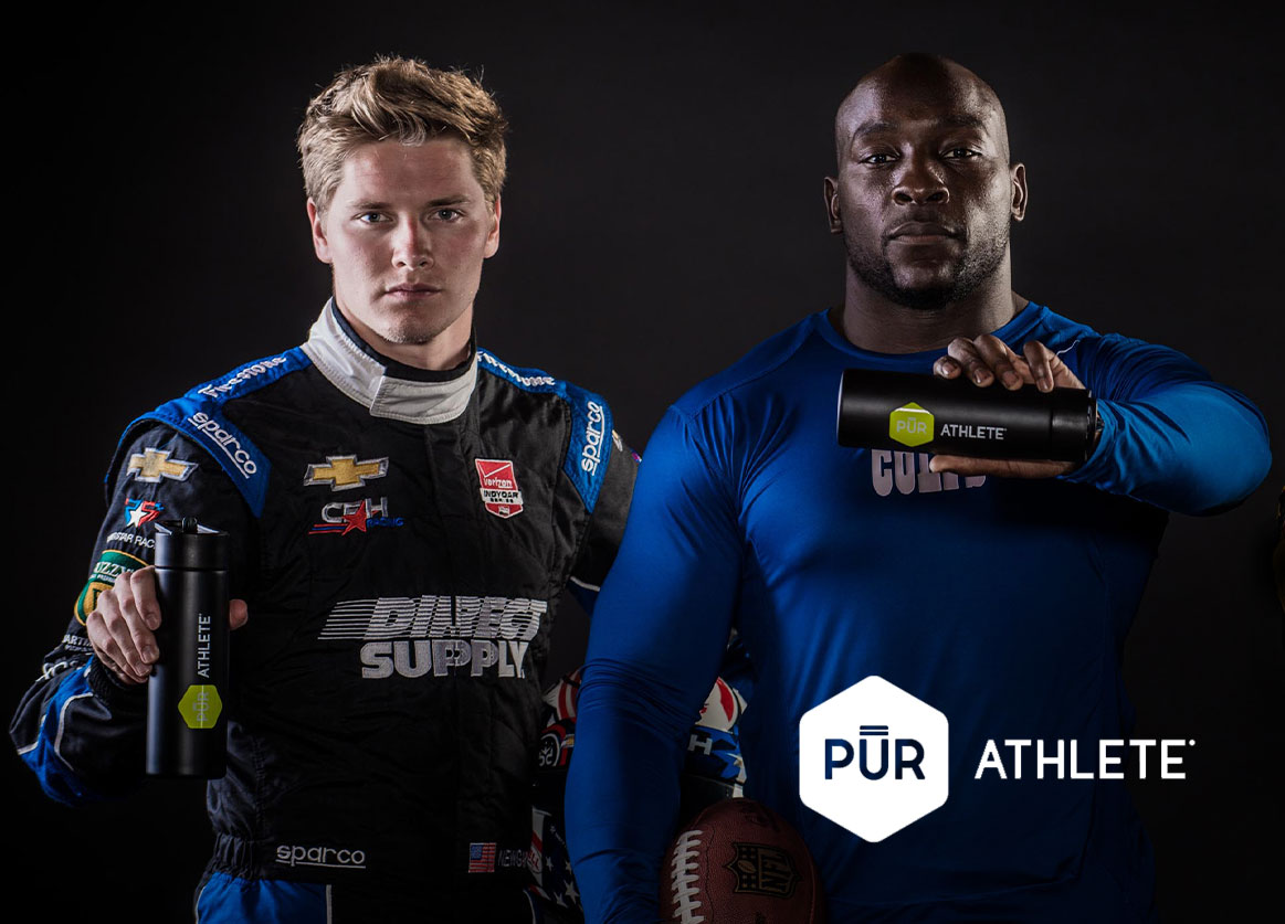 Pur Athlete Cover Marketing Strategy: PurAthlete