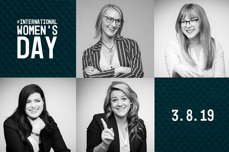 Womens Day Blog Graphic Klipsch Marketing & Advisors