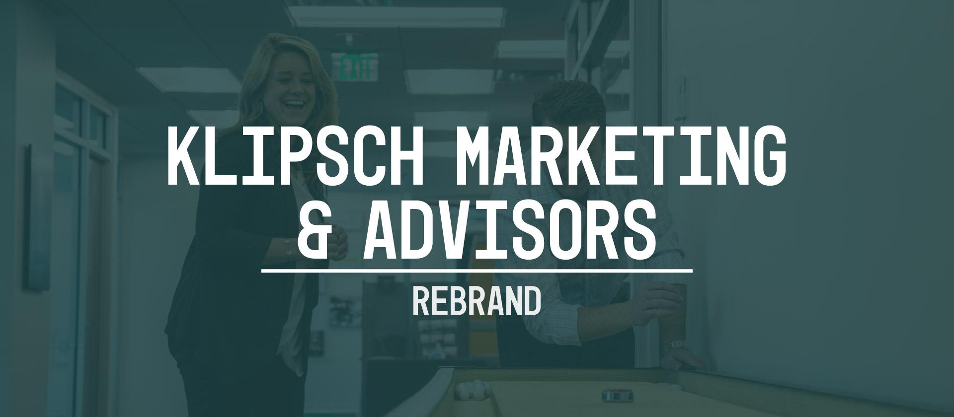 KMA rebrand web Header Klipsch Marketing & Advisors