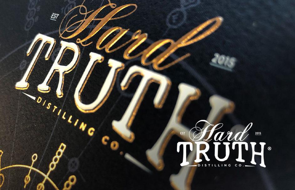 HTH front Cover V2 e1610403730191 Packaging: Hard Truth Distillery Spirit Label