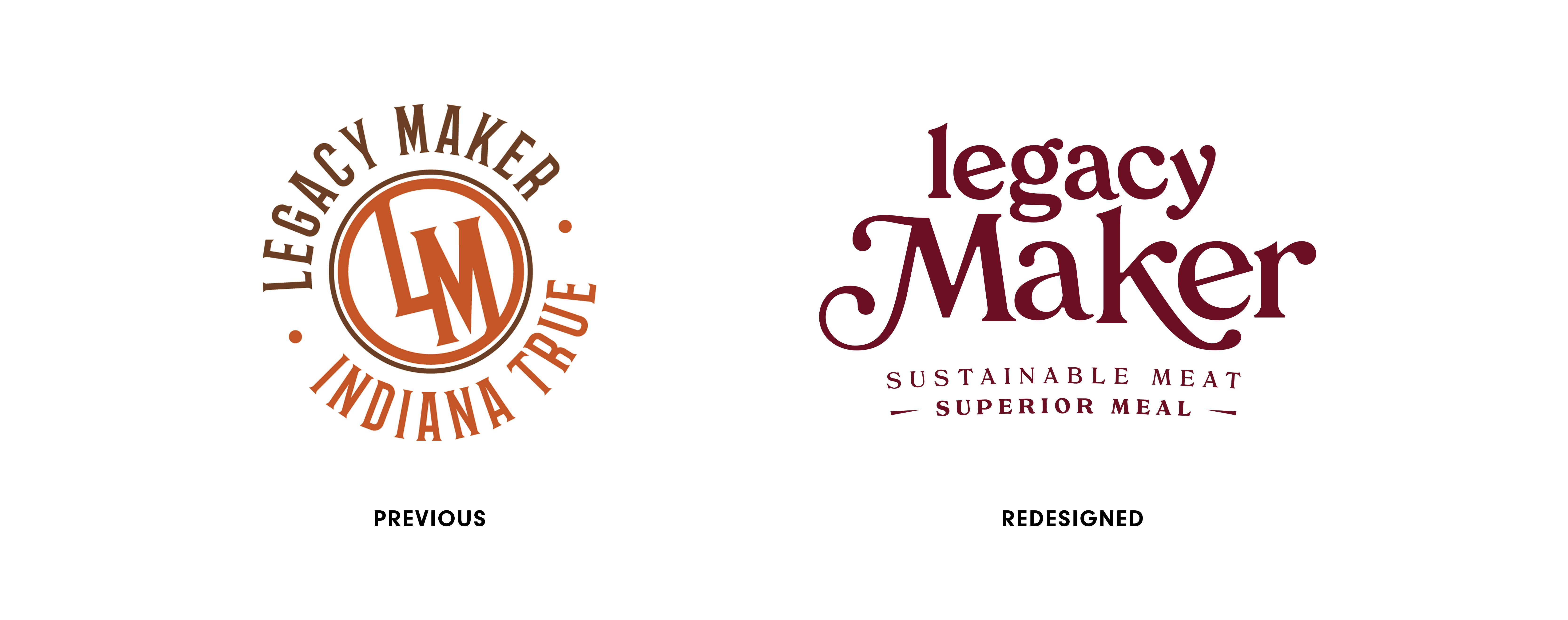 LM beforeafter Rebrand: Legacy Maker