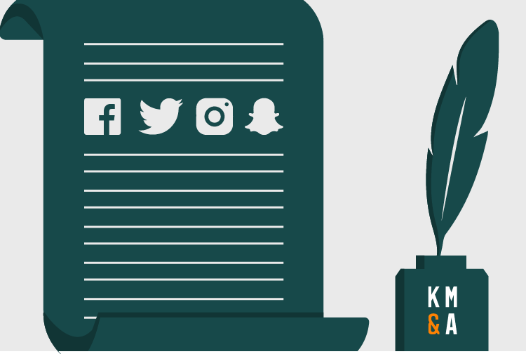19975 KMA Blog Graphic 5 Social Policy Tips Keep Calm and Create a Social Media Policy