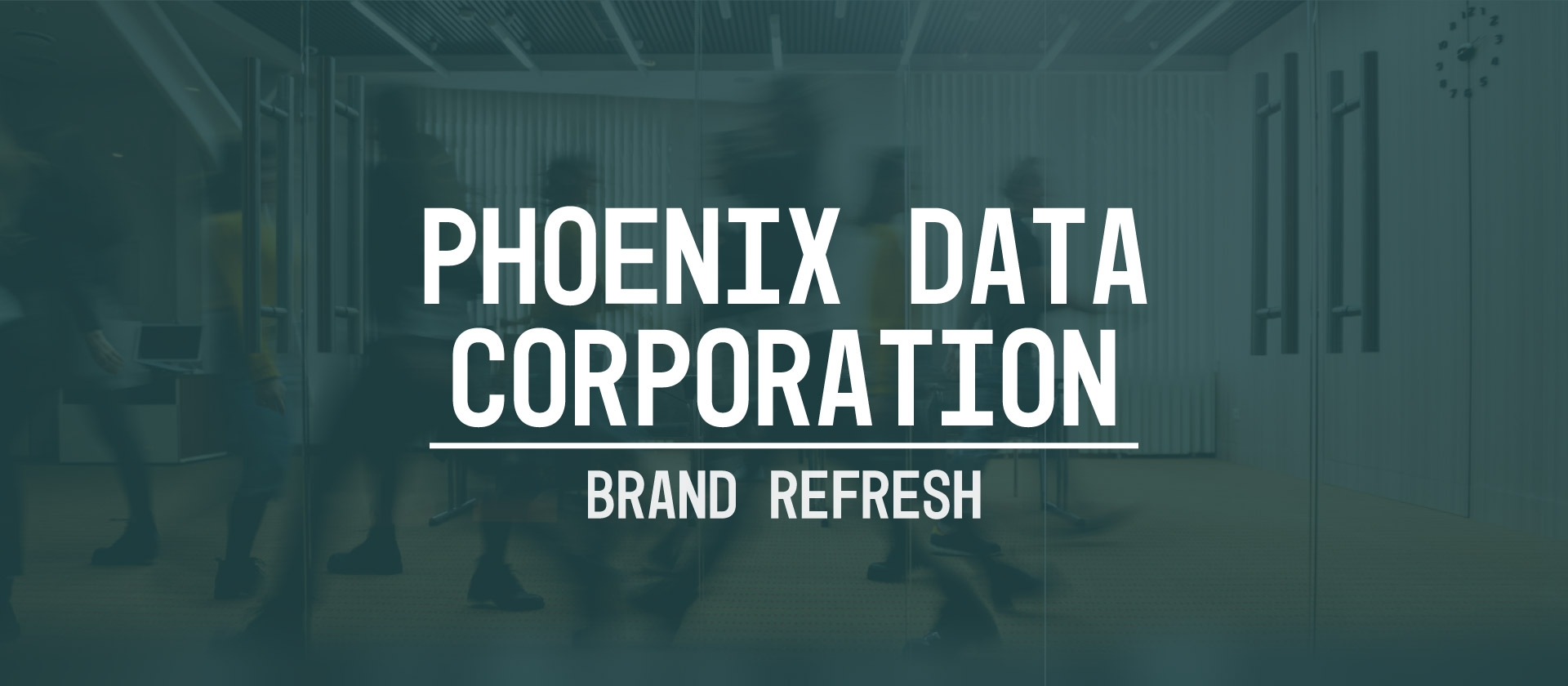 Brand Guideline and Brand Refresh: Phoenix Data Corporation